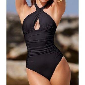 Victoria Secret medium black bathingsuit
